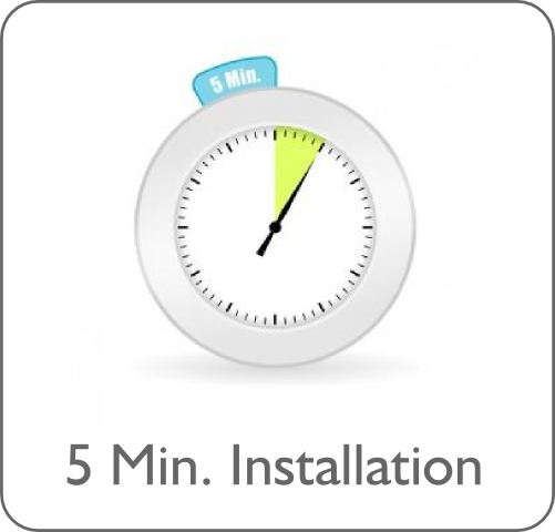 5 Minute Installation