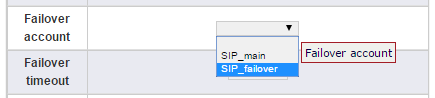How to create a SIP to PSTN failover in a beroNet gateway