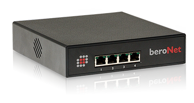Small Business Line VoIP Gateway is available as digital (ISDN) or analog (FXS/FXO)