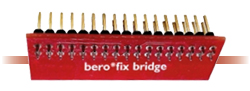 The beroNet Bridge (BFBridge) is used to access all 4 PSTN Ports (i.e. from a bf4S0,bf4FXS,bf4FXO or bf2S02FXS) over the external 4 RJ45 Ports of the berofix Baseboard.