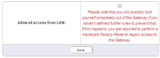 Um den Zugriff einzuschränken deaktivieren Sie einfach untere Option.