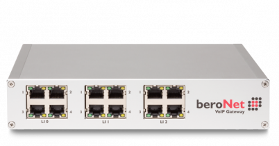 beroNet modular and cloud managed Session Border Controller