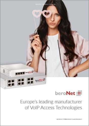 beroNet Product Catalog